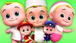 Fünf kleine babys